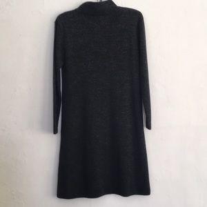 ASOS Dresses - ASOS Mock neck sweater dress gray SZ 8